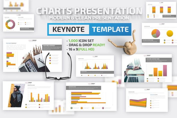 Thumbnail for Charts Design Keynote