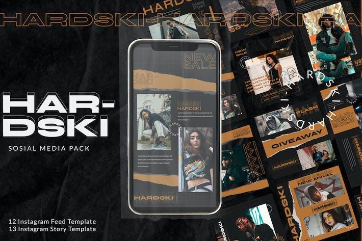 Thumbnail for Hardski - Instagram Beitrag und Geschichten