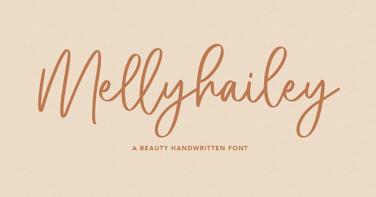 Download Melly Hailey Handwritten Font by maulanacreative