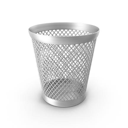 Waste Paper Basket Full