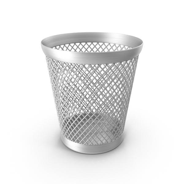 Корзина для отходов полной бумаги