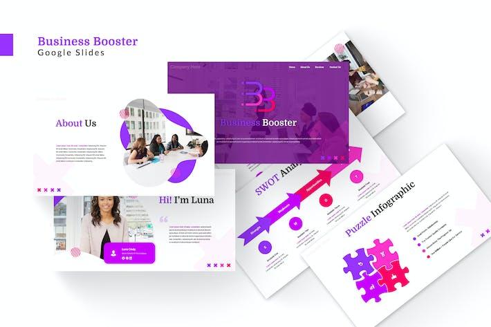 Thumbnail for Business Booster - Google Slides