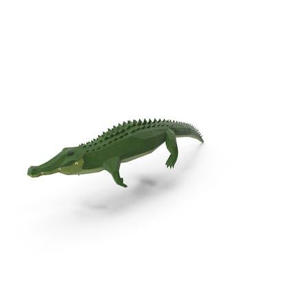 Low-Poly-Alligator