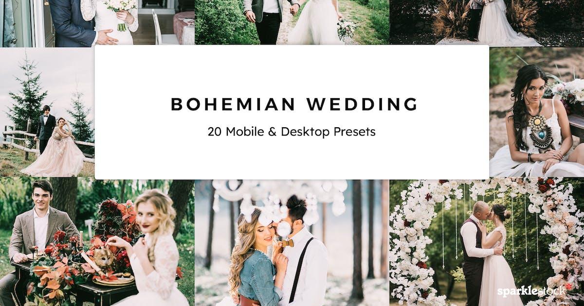 Download 20 Bohemian Wedding Lightroom Presets & LUTs by sparklestock