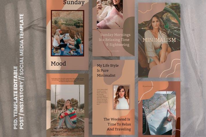 Thumbnail for TRVL. Social Media Template & Stories