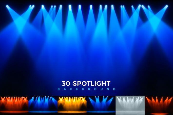 Thumbnail for Spot Light Backgrounds