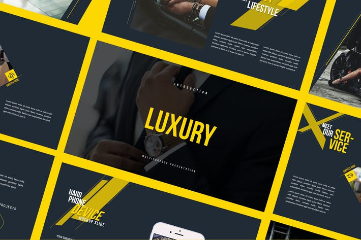 Thumbnail for LUXURY - Keynote Business Modern Corporate