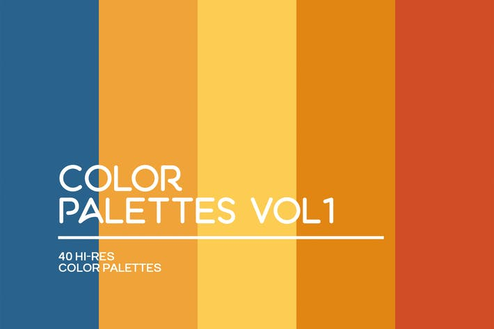Thumbnail for Color Palettes Vol 1