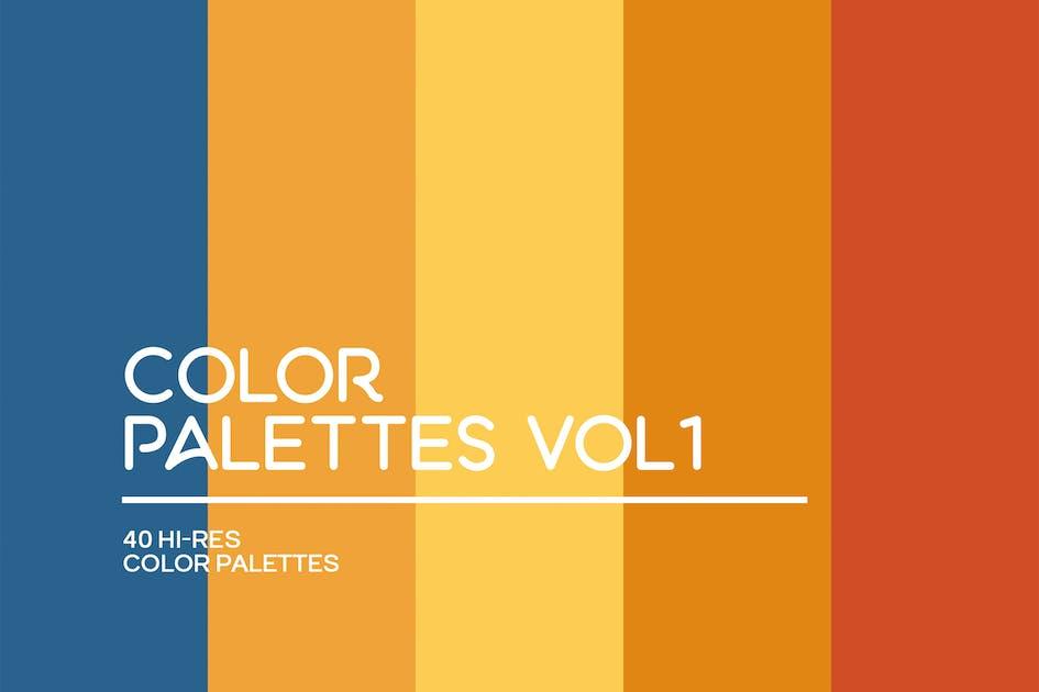 Download Color Palettes Vol 1 by CreativesCastle