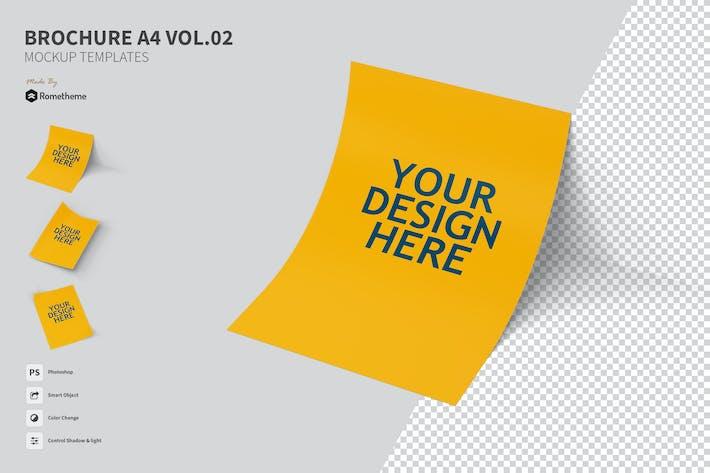 Thumbnail for Brochure A4 vol.02 - Mockup FH