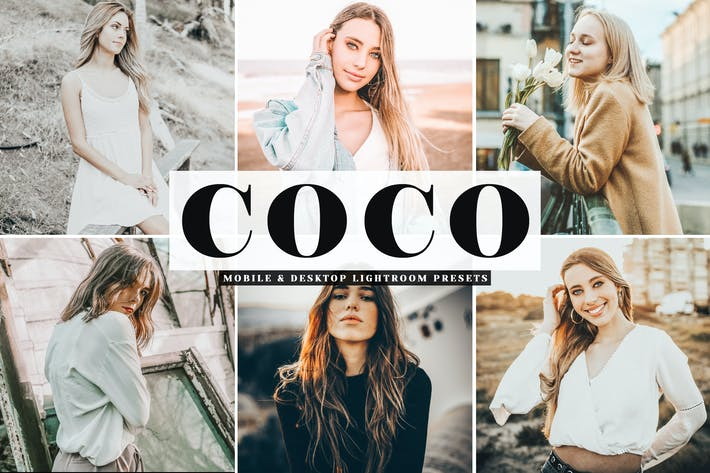 Thumbnail for Coco Mobile & Desktop Lightroom Presets