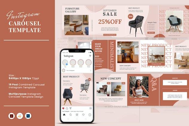 Carousel Furniture Instagram Feed
