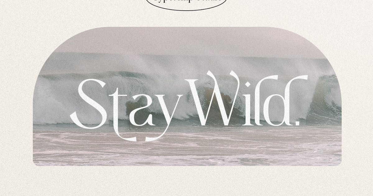 Download Stay Wild Serif Display by TempCraft