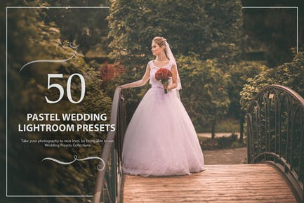 50 Pastel Wedding Lightroom Presets