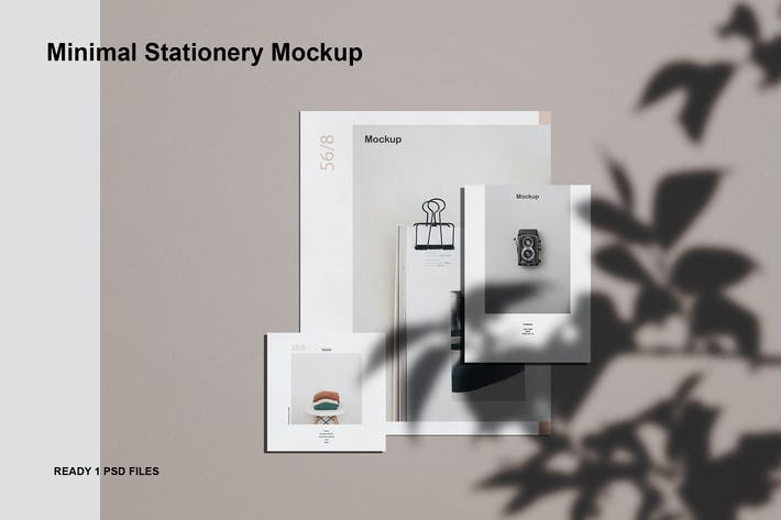 Thumbnail for Minimal stationery mockup
