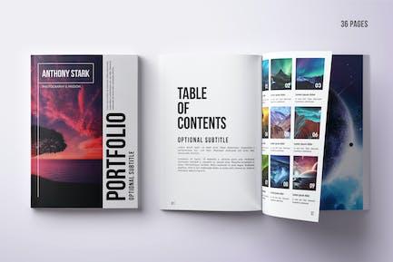 Mehrzweck-Portfolio Design, A4, 36 Seiten