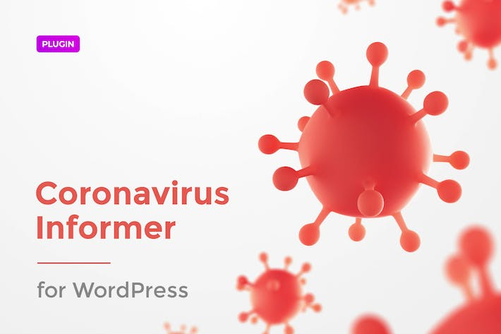 Thumbnail for COVID-19 Informer for WordPress