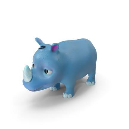 Toon Rhino Babyblau