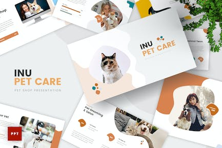 Pet Care PowerPoint Template