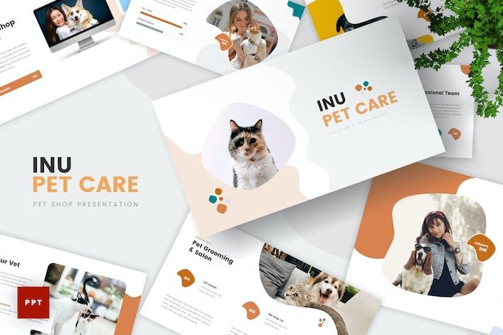 Plantilla PowerPoint de cuidado de mascotas