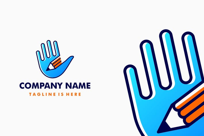 Thumbnail for Pencil Hand Logo