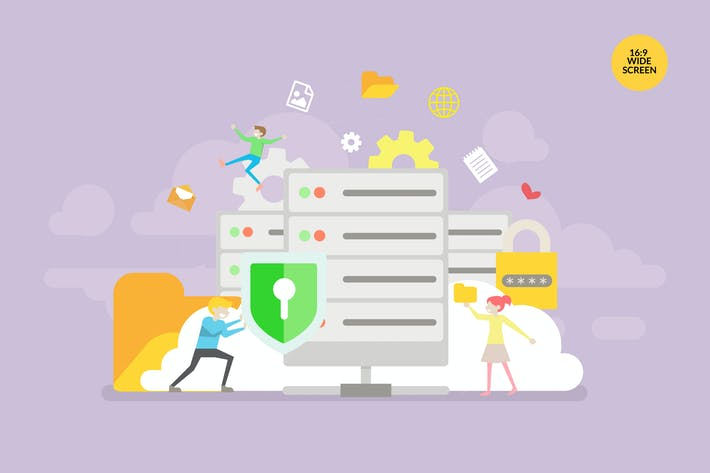 Thumbnail for Database Security Vector Concept Illustration