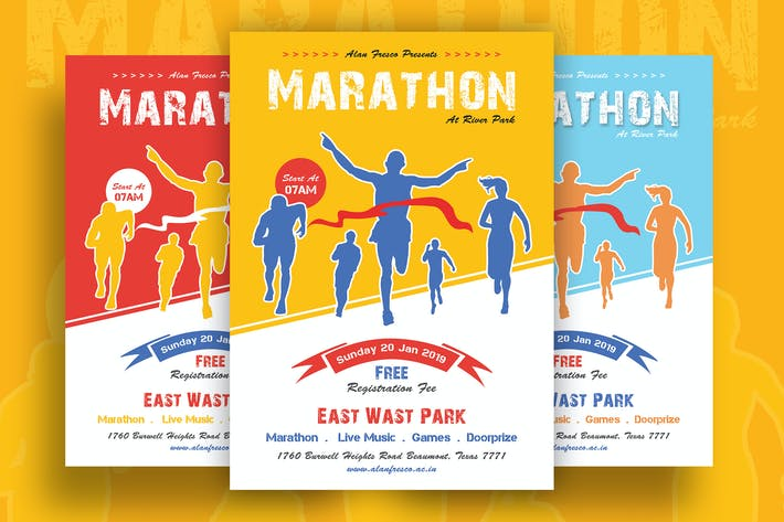 Thumbnail for Marathon Event Flyer-02