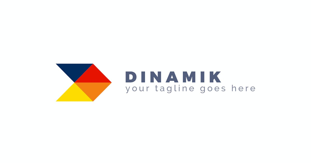 Download Dinamik - Abstract Logo Template by ThemeWisdom
