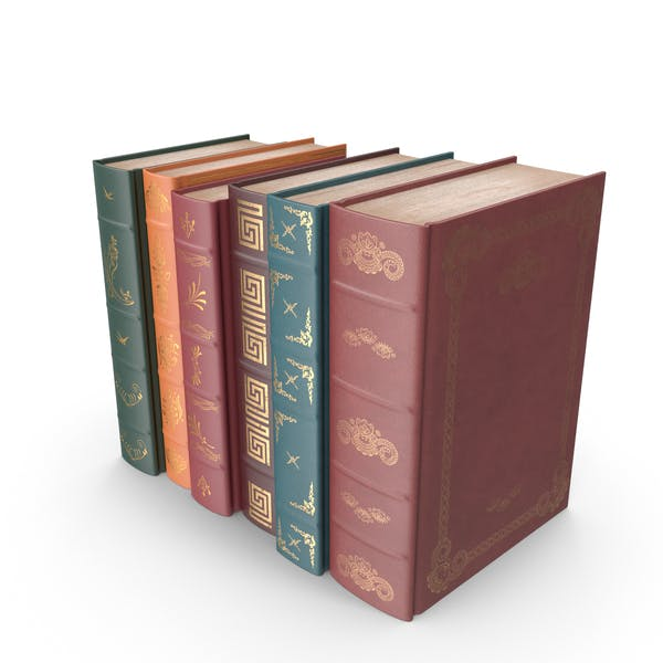 Small Row of Classic Books