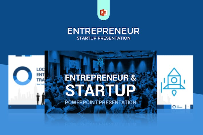 Thumbnail for Entrepreneur/Startup/Business Powerpoint Template