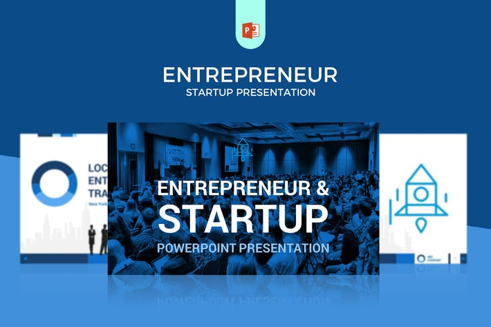 Thumbnail for Шаблон Powerpoint для предпринимательства/стартапа/бизнеса