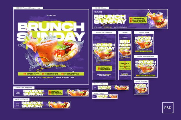 Brunch Banners Ad