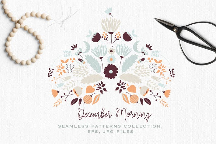 Thumbnail for December Morning Patterns Collection