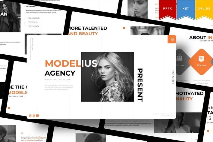 Thumbnail for Modelius | Шаблон презентации