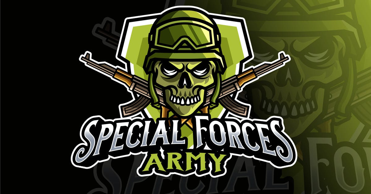 Download Special Forces Army Logo Template by IanMikraz