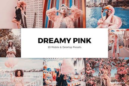 20 Мечтательных розовых Пресеты Lightroom и LUT