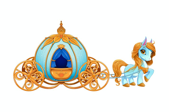 Thumbnail for Cinderella Pumpkin Carriage