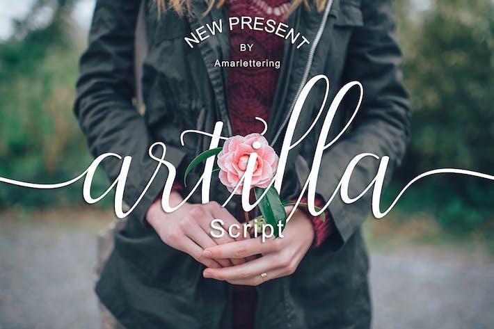 Thumbnail for Artilla Script