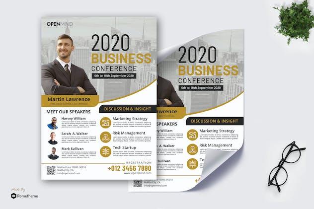 Business Seminar vol.01 - Poster RB