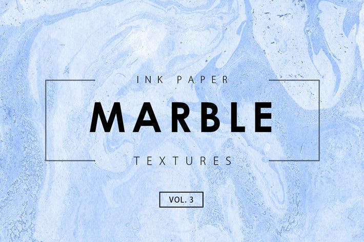 Cover Image For Marble Ink Textures 3