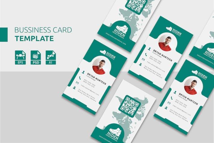 Fashion Apparel Business Card