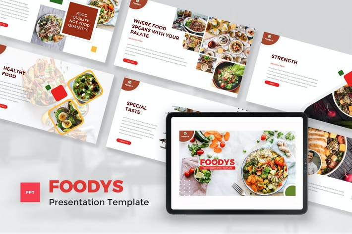 Food PowerPoint Template