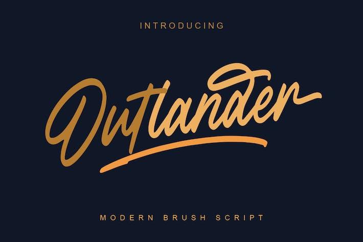Thumbnail for Outlander Brush Script MS