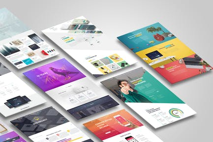 Web,Flyer,Resume or CV Mock up