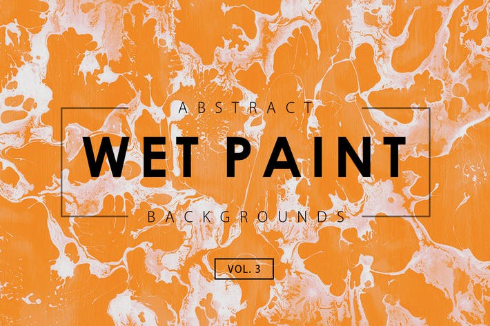 Thumbnail for Wet Paint Backgrounds Vol. 3