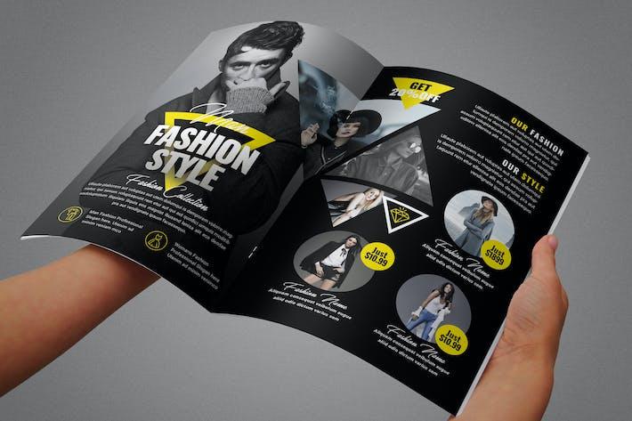 Thumbnail for Fashion Bifold Brochure
