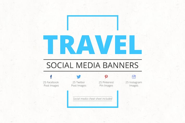 Thumbnail for Travel Social Media Banners