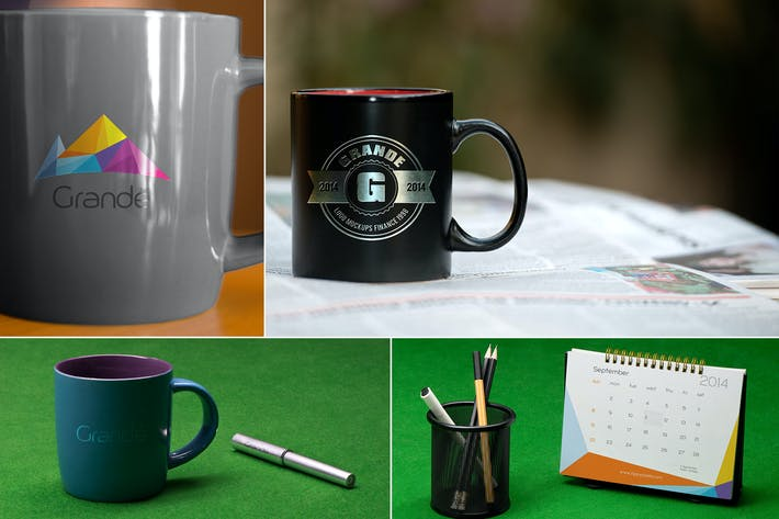 Thumbnail for 3 Mug Mockups