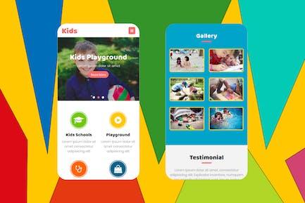 Kids - Multipurpose Mobile Template