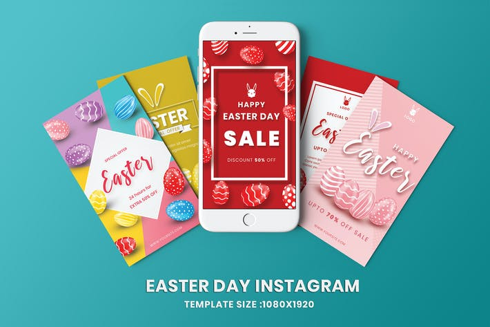 Thumbnail for Easter Day Instagram Stories Template